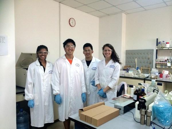 Rutgers Chemistry Students Visit China Jilin University