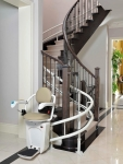 A Straight or Curved Power Stair Lift for Every Need