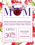 Event: Mother's Day Sale Event - Apr 29 to May 8