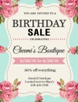 Birthday Sale !!!