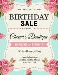 Event: Birthday SALE !!!  - Jun 26-28