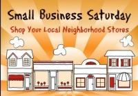 Event: Small Business Saturday - Nov 26 @ 10:00am