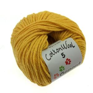 Cotton Wool - stærk gul