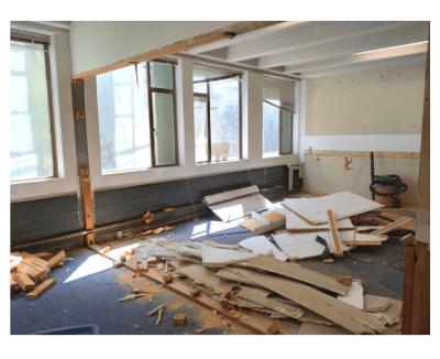 EGH Kitchen Project Construction Begins!