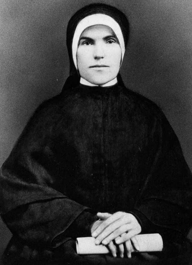 Sr Dolores Farmer co-founder of The Sisters of the Holy Family