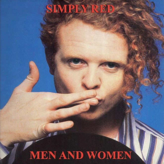 "Simply Red ""Men and Women"" album cover (1987)"