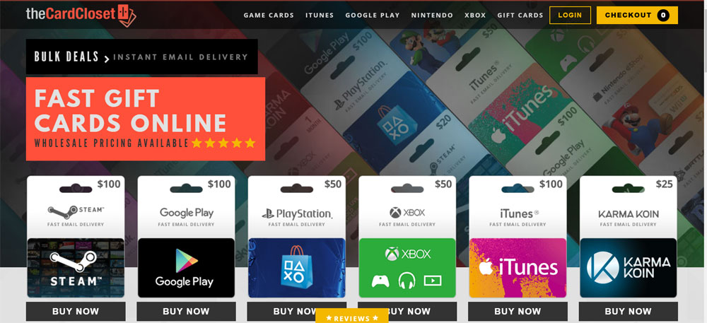 15 Trusted Sites to buy Gift Cards Online in 2019 at Any Time!!!