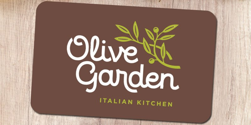 Olive Garden Gift Card 2018 Restaurant With The Best Menu In Town