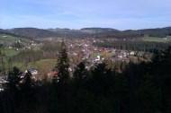 Après env. 29 km de marche, j'entre peu après 15 h 00 dans Hinterzarten, petite station thermale jolie et assez chic.