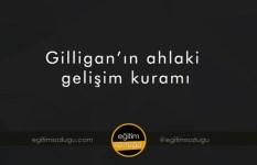 Gilligan'ın ahlak gelişim kuramı nasıldır?