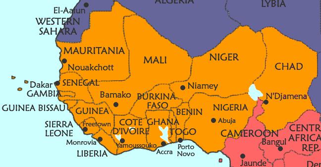 Africa Occidentale Cartina Geografica.Gli Imperi Dell Africa Occidentale Egittologia
