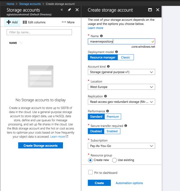 Azure Storage Emulator Docker Dandk Organizer - Year of