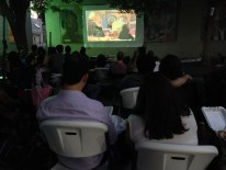 Film in the Garden - 'The Prophet'