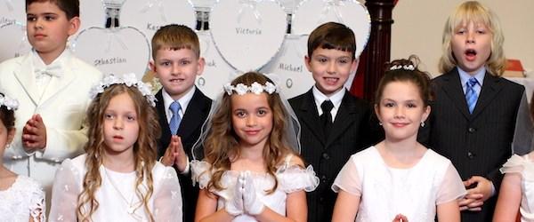 Première communion catholique