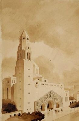 vue-de- l-église-v-1933