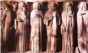 Apôtres coté gauche du tympan (©S P C).