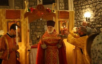 Прихожане Серафимовской общины в Бордо встретили Пасху Христову в новом храме