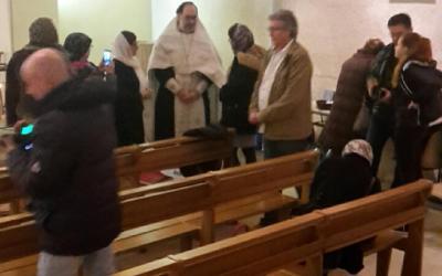 20 января 2018 – Водосвятный молебен для русской общины г. Ажен