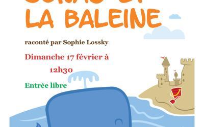 """Tapis-conte pour enfants """"Jonas et la Baleine"""" raconté par Sophie Lossky"""