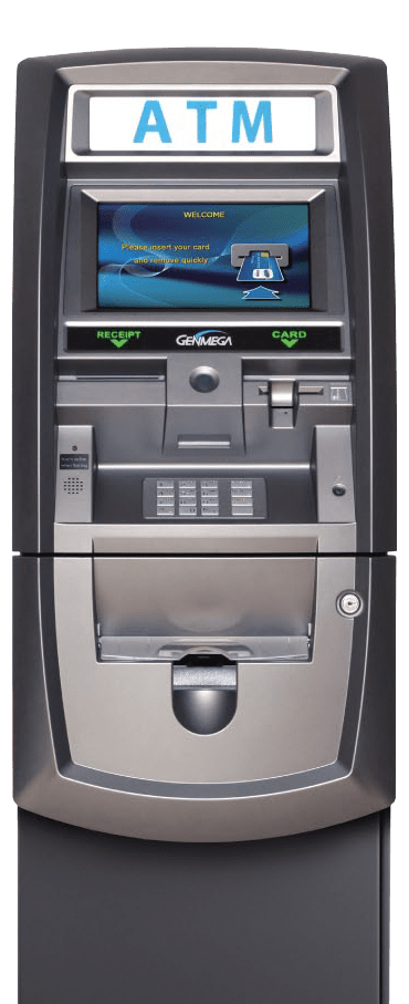 ATM Managed Services with Genmega 2500 Retail ATM Terminal