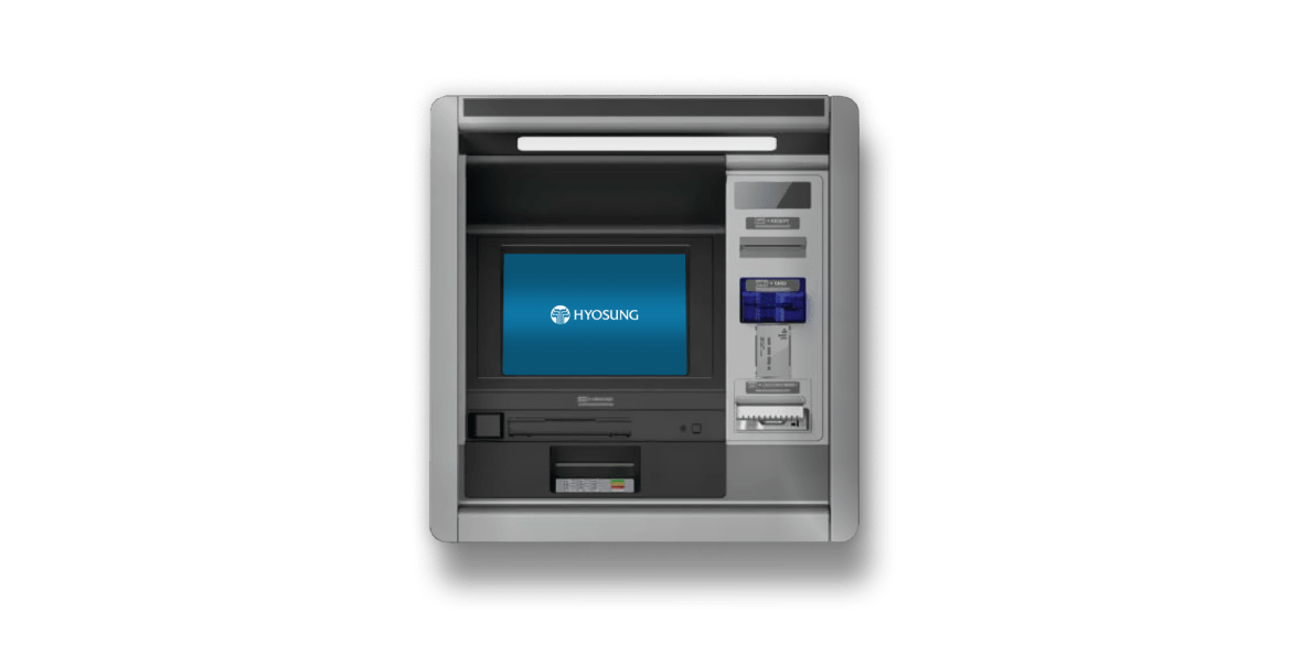 Turnkey ATM Managed Services Bank through the wall walk up ATM