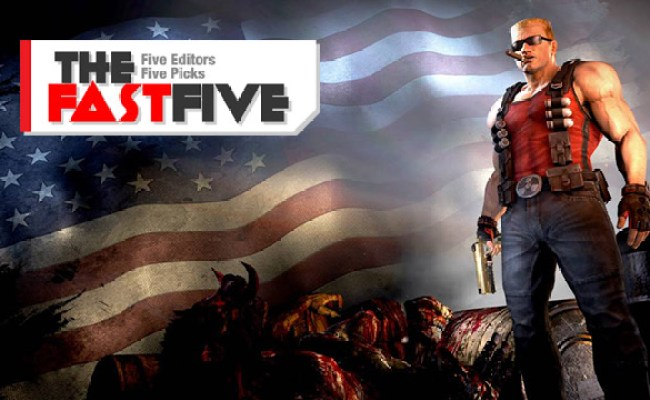 The Fast Five The Most American Games Ever Made Egmnow