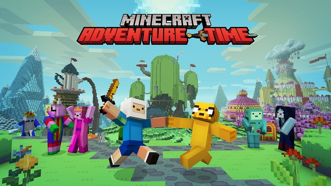 Minecraft Is Getting An Adventure Time Mashup Pack Egmnow