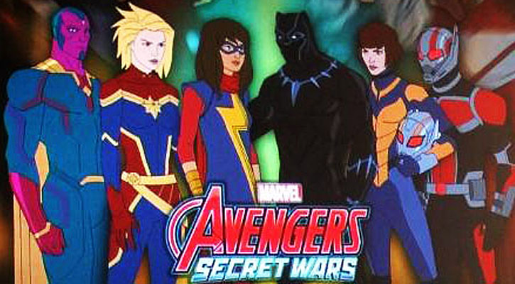 Image result for avengers assemble secret wars