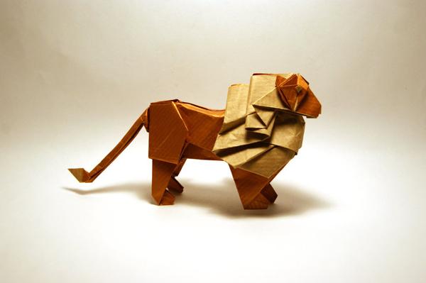 Leon Diagram Origami 3d By Kirichan1990 On Deviantart