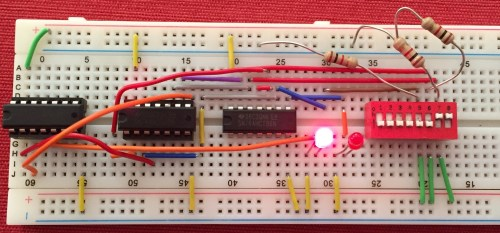 small resolution of full adder prototype