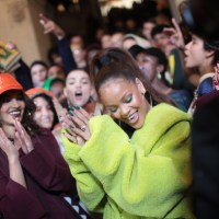 RIHANNA presented a collection inspired by school uniforms!