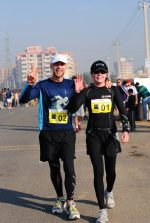 Chris Pye and Alida Cross running 24-hr on their vacation