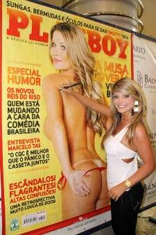 Viviane Bordin capa da Playboy - Foto Marcos Morrone