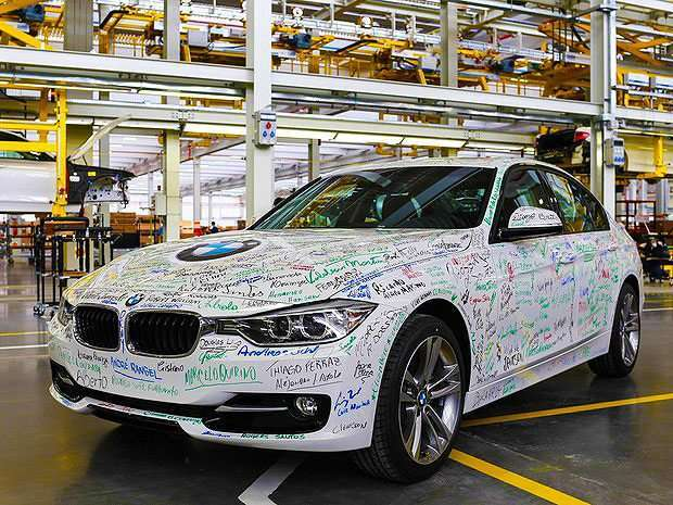 BMW as Joias produzidas em Araquari - Foto Divulgação