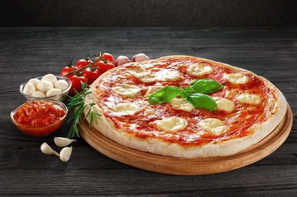 Pizza Margherita - Foto: Divulgação