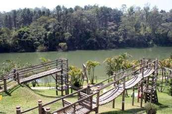 Hotel está situado às margens do rio Paraíba do Sul, em Guararema - Foto: Divulgação
