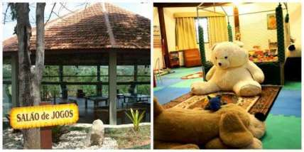 Hotel oferece muitas opções de lazer para adultos e crianças - Foto: Divulgação