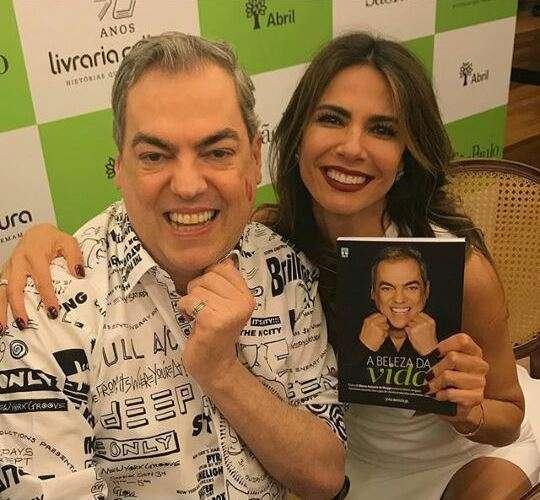Foto - Divulgação Marco Antõnio de Biaggi e Luciana Gimenez