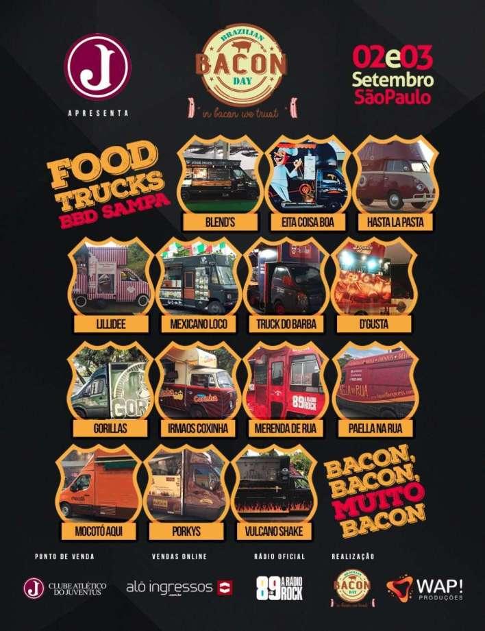 Foto Reprodução internet: Food Trucks confirmados