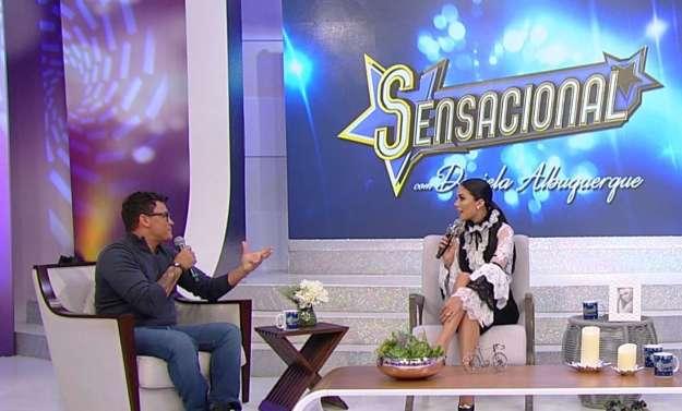 Popó e Daniela Albuquerque - Fotos: Divulgação RedeTV!