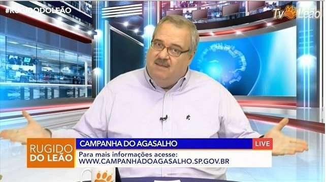 Apresentador Giberto Barros -Tv Leão reprodução internet