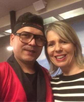 Davi Brandão, Assessor de Imprensa de Lilian Gonçalves e Deia Sell - Foto DSell