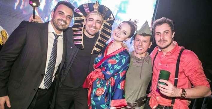 Juninho Cavichioli, Davi Paes e Lima, Gysmery Henning, Jorge Junior e Junior Leidens - Foto Larissa Trentini
