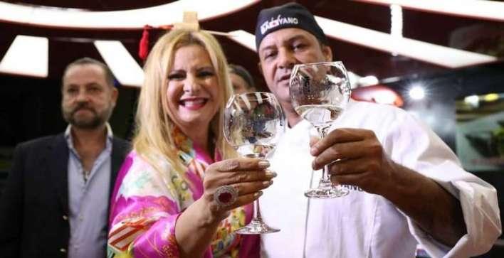 Lilian Gonçalves e Bayano do Sushi - Foto Paulo Bareta - Divulgação