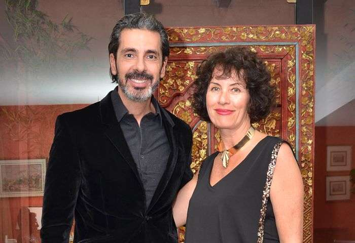 Alexandre Taleb e Andrea Pera