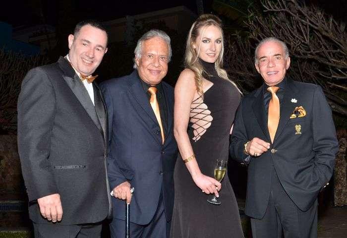 Reinaldo Dutra, Rob Tulli, Raquel Juchem, Chiquinho Scarpa