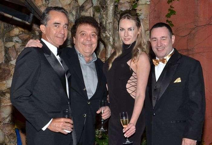 Anibal Massaini, Raquel Juchem e Reinaldo Dutra