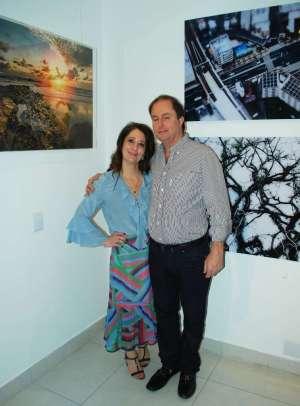 Célia Nahas Garcia e marido