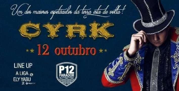 Cyrk - Flyer divulgação