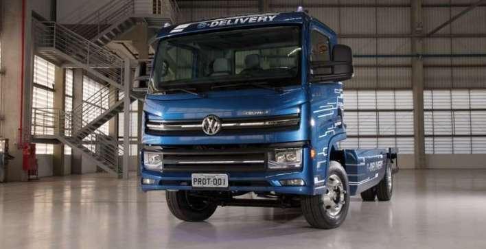 O primeiro caminhão 100% elétrico desta categoria totalmente desenvolvido no Brasil